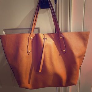 Annabel Ingall Tan leather tote bag